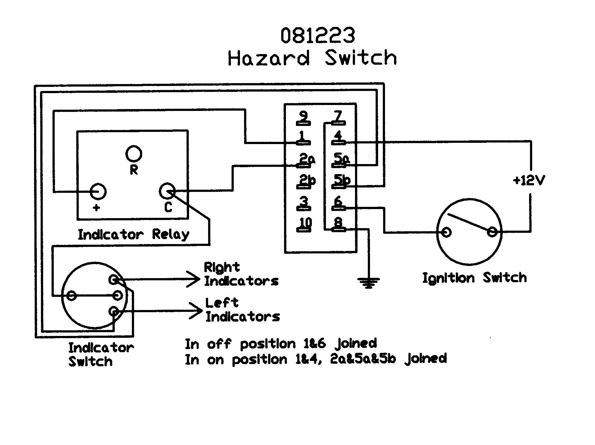 Hazard Switch Wiring Diagram Online Land Rover Ffr Light Schematic Name
