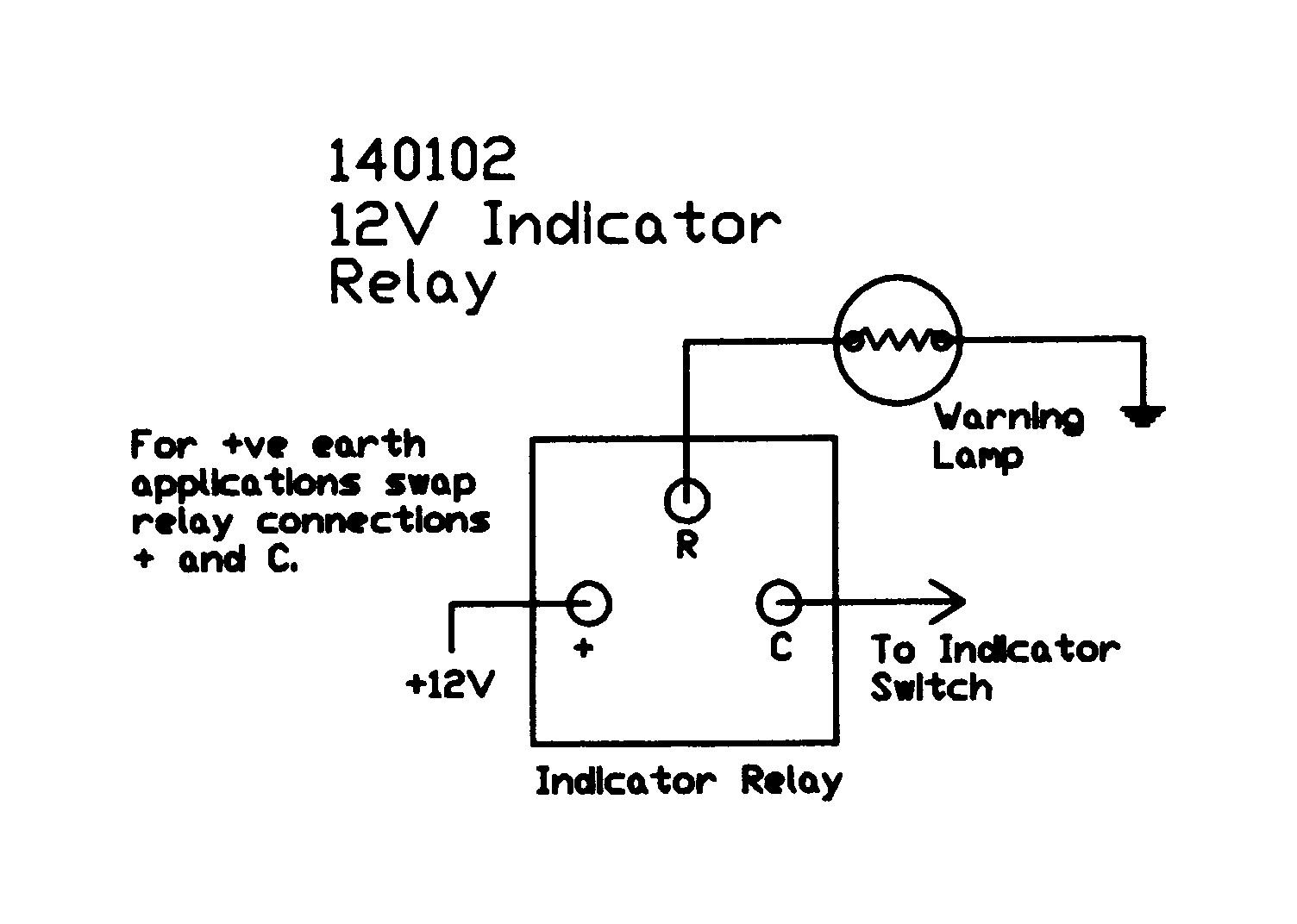 Relay Wiring Diagram Positive Ground Learn Cockshutt 12v Electronic 3 Terminal And Negative Earth Rh Autoelectricsupplies Co Uk