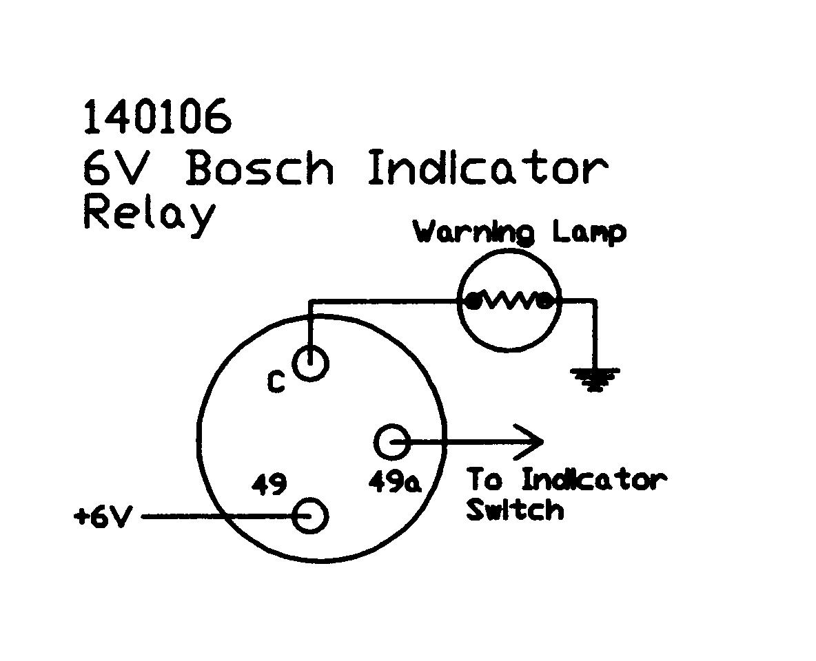 Indicator Relay 6v Bosch Circuit Wiring Diagram 140106