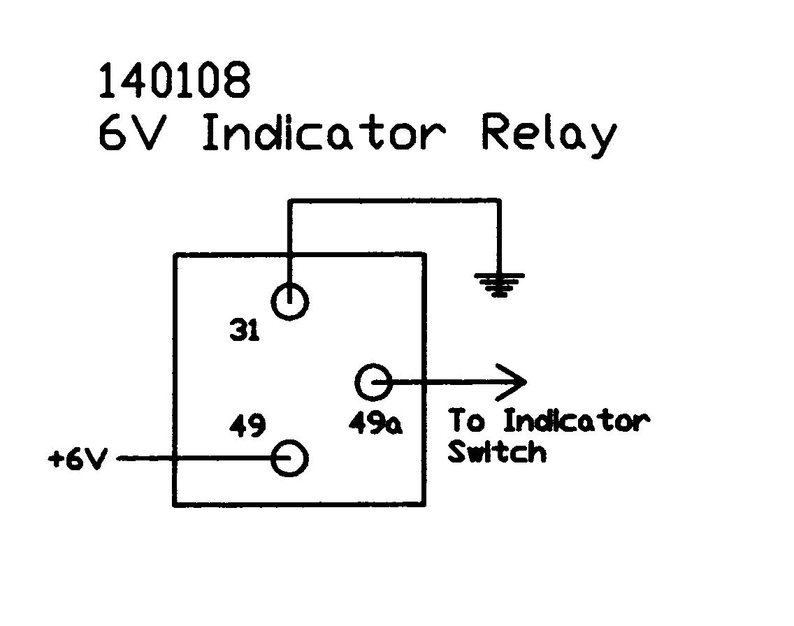 Electronic Flasher Relay Wiring Diagram Library