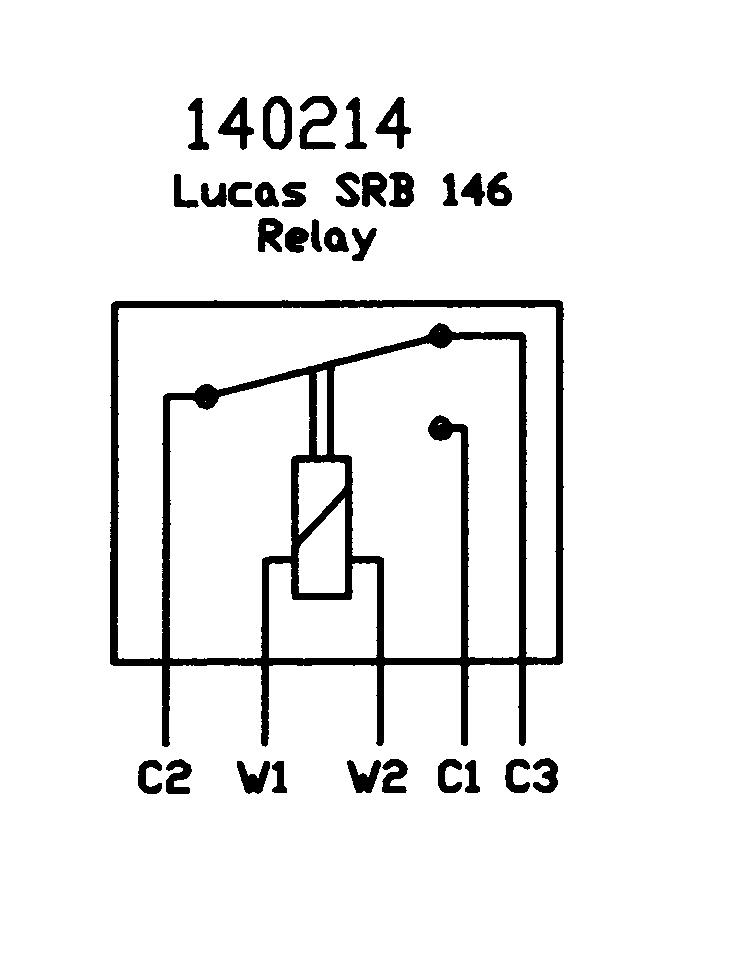 140214_wiring_diagram lucas srb146 (6ra)12v change over relay lucas relay 22ra wiring diagram at bayanpartner.co