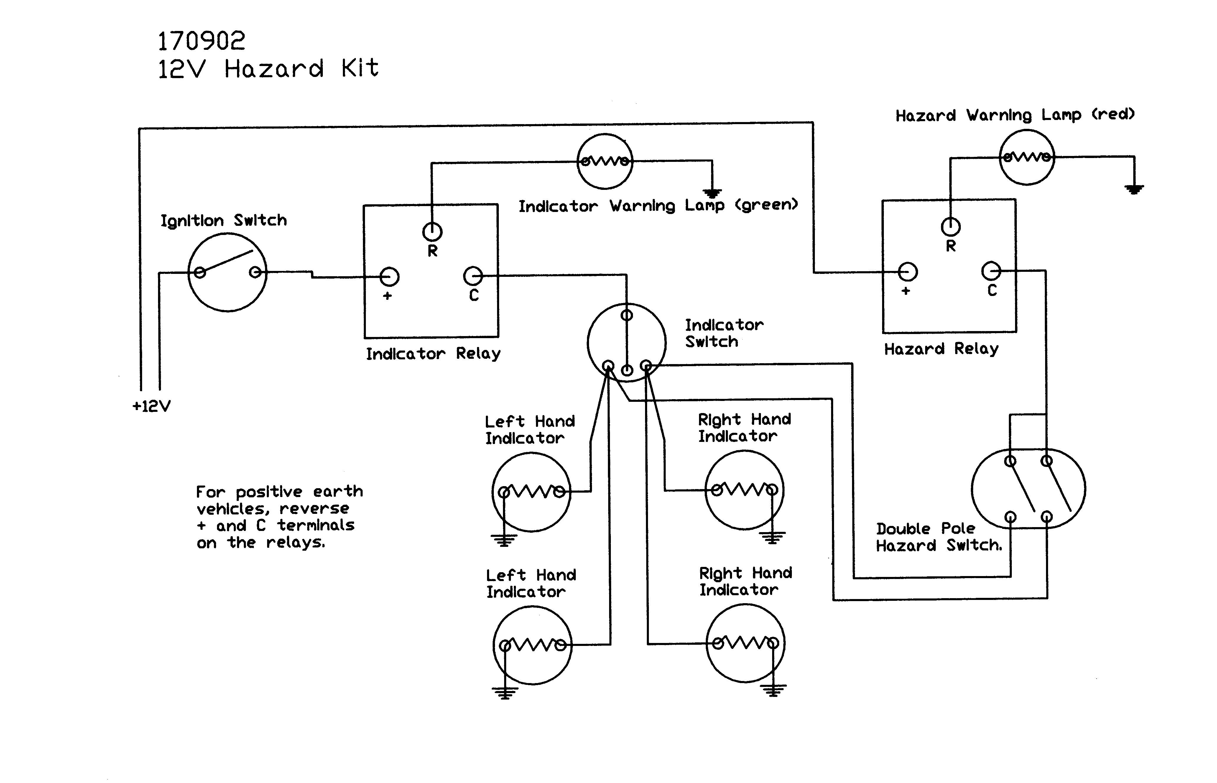 Hazard Switch Kits Understanding Wire Diagrams 170902 Wiring Diagram