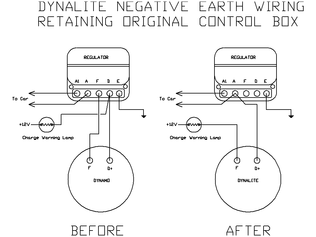 Dynamo To Alternator Conversion Wiring Diagram on starter generator 12v
