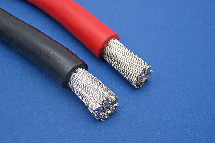Tinned Copper Battery/Starter Cable