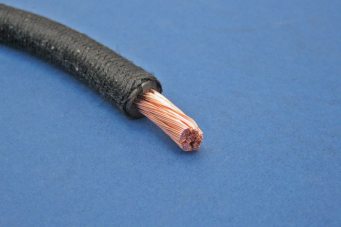 braided battery starter cable. Black Bedroom Furniture Sets. Home Design Ideas