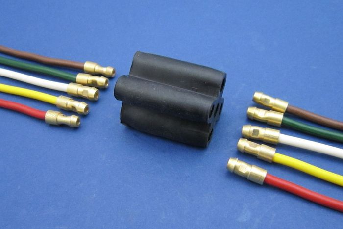Battery Terminal Covers >> Standard Bullet Connectors - 5-way