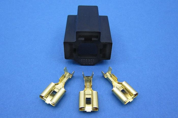 product image for Head Lamp H4 Connecting Sockets - Straight