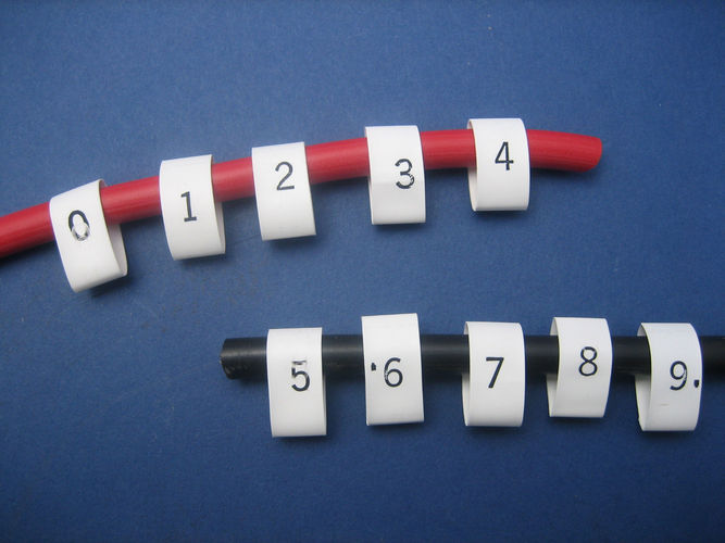 Heat Shrink Cable Markers