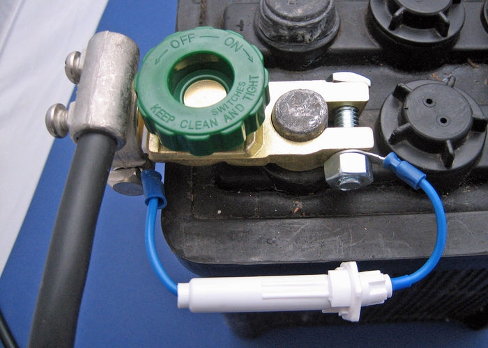 Quick Disconnect Battery Terminals  With Fuse