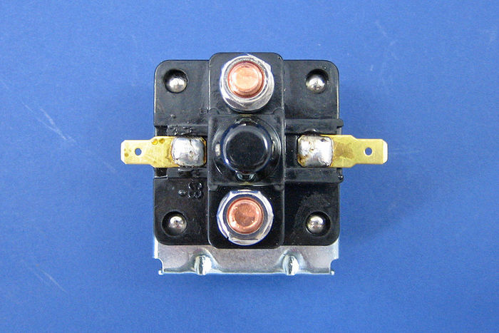 Lucas 12v 4 Terminal Replacement Solenoid