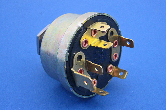 Lucas Ignition Switch 3 Terminal Dynamo Type