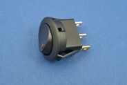 On/off rocker switch with LED indication