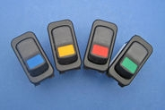 Modular Rocker Switches-  Coloured panel