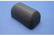 Rubber cover for brake light switches