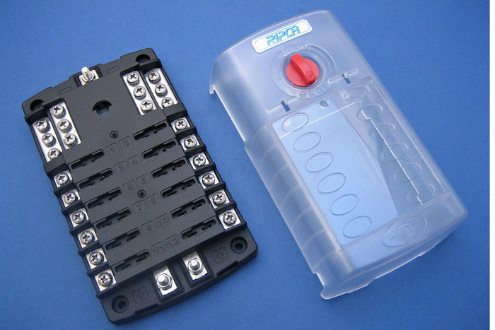 product image for 12 Way Fused Distribution Board