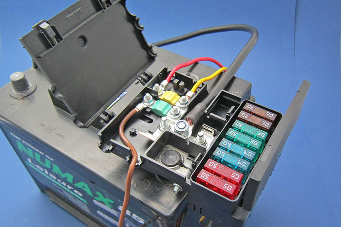 battery mounted fusebox battery fuse box #13