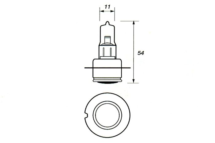 product image for P36s (Single Contact) British Pre-Focus