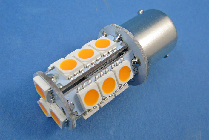 product image for Ampoules LED Orange Clignotant