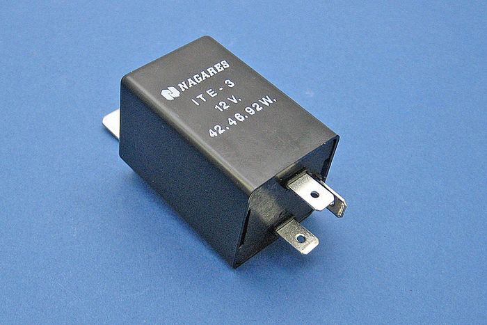 product image for 12V Electronic 3 terminal  -  positive and negative earth
