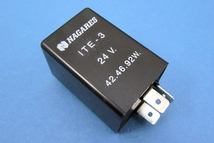 product image for 24v Electronic 3 terminal - positive and negative earth