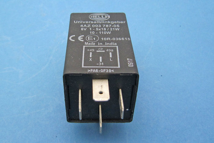 hella flasher wiring diagram 6v flasher relay hella  6v flasher relay hella