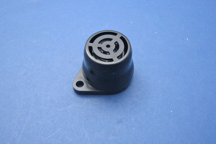 Dashboard buzzer. 12V loud and urgent tone.