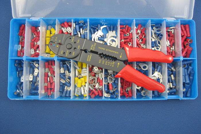 Insulated Terminal Kit (with Crimping Tool)