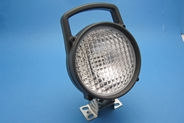 Black Plastic Work Lamp with Rocker Switch