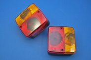 Stop/tail and indicator lamp (104 x 98 x 50mm)