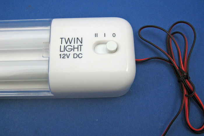 product image for Lampe à tube fluorescent double