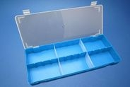 Divider box - large blue