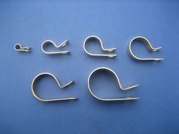 product image for P Clips - Brass