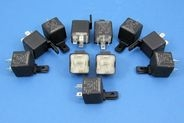 12 VOLT RELAYS - MAKE AND BREAK - PACK OF 11