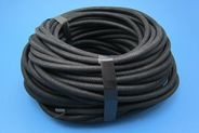 APPROX 27M OF BRAIDED MULTICORE CABLE, 3 X 28/0.30