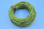 APPROX 50M OF 1MM² BRAIDED CABLE - GREEN