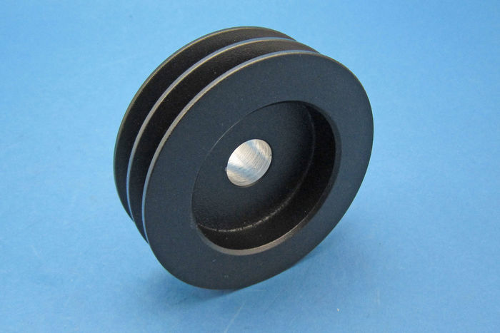 product image for 90mm O.D. Alum. 10mm twin V