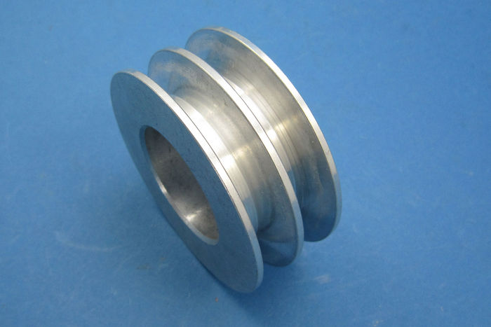 product image for 64mm O.D. Aluminium 10mm twin V