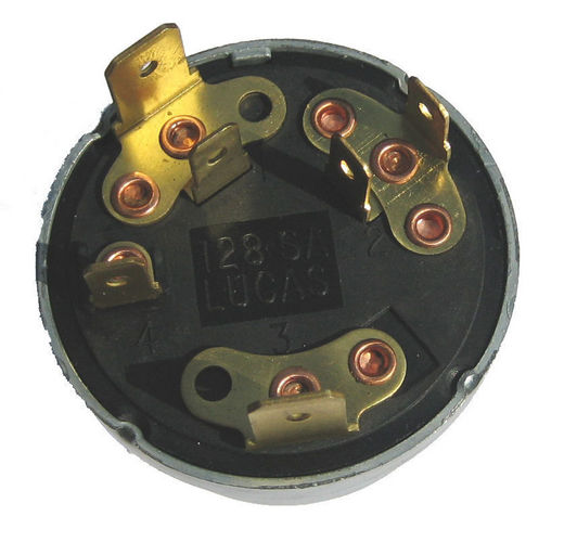 Lucas Rear Large on 9 volt battery switch