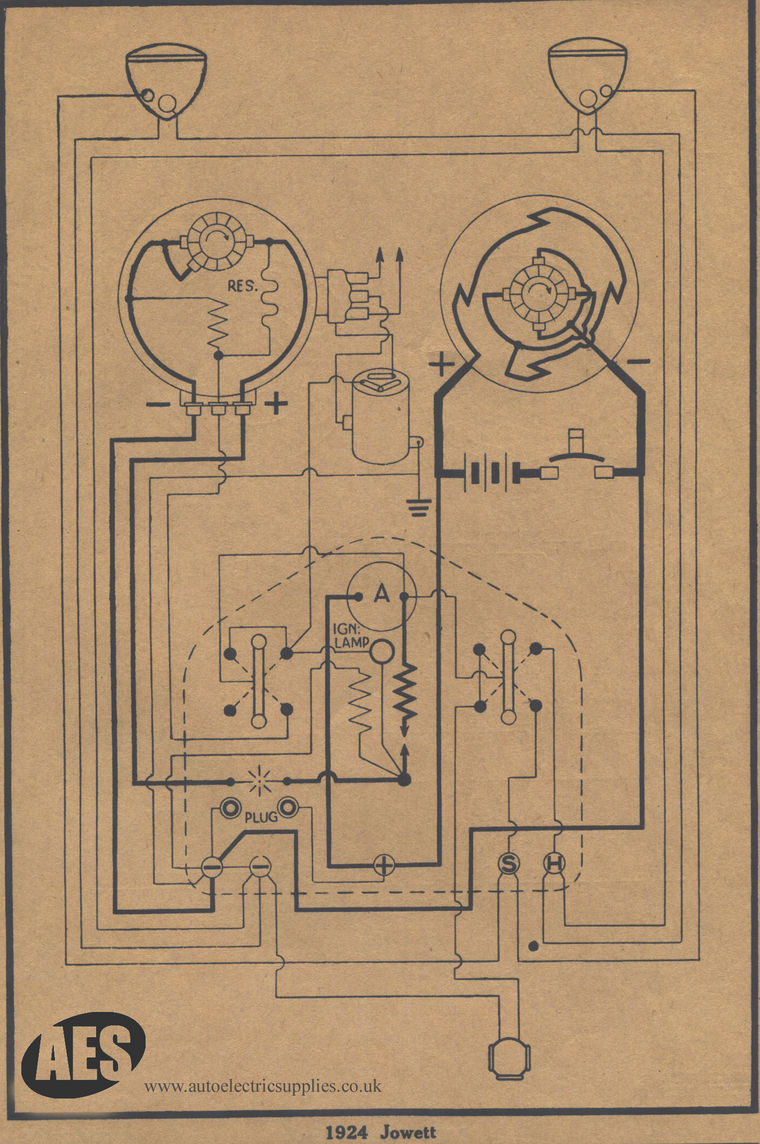 1924 Jowett Aston Martin Electrical Wiring Diagram Please Note That We Cannot Guarantee The Accuracy Of Information Contained In These Diagrams They Are Simply Have Collected